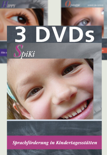 HIPPY SpiKi Opstapje DVD Set